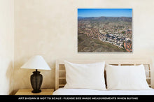 Load image into Gallery viewer, Gallery Wrapped Canvas, Aerial View Of South Mountain From Over Ahwatukee Looking To The West