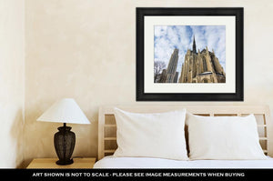 Framed Print, A Shot At The University Of Pittsburgh