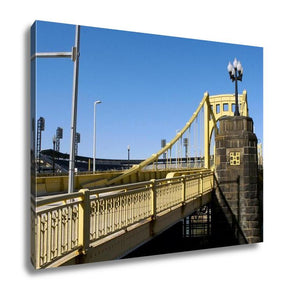 Gallery Wrapped Canvas, Pittsburgh Bridge