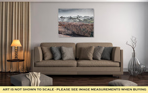 Gallery Wrapped Canvas, Lumber Yard In Portland Town Victoria Australia