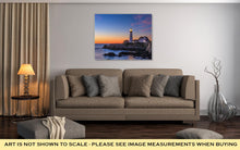 Load image into Gallery viewer, Gallery Wrapped Canvas, Portland Head Light In Cape Elizabeth Maine USA