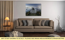 Load image into Gallery viewer, Gallery Wrapped Canvas, White Picket Fences On The Water
