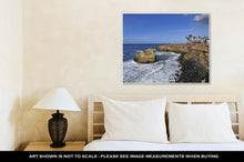 Load image into Gallery viewer, Gallery Wrapped Canvas, View Over Sunset Cliffs San Diego California
