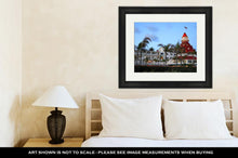 Load image into Gallery viewer, Framed Print, Hotel Del Coronado San Diego USA