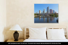 Load image into Gallery viewer, Gallery Wrapped Canvas, Partial Tampa Florida Skyline With Usf Park And Commercial Buildings
