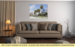 Gallery Wrapped Canvas, Tampas Channelside Drive