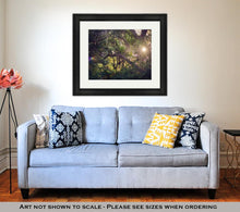 Load image into Gallery viewer, Framed Print, Oaks Draped In Spanish Moss