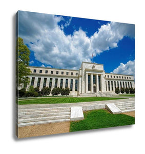 Gallery Wrapped Canvas, Marriner Eccles Federal Reserve Board Building