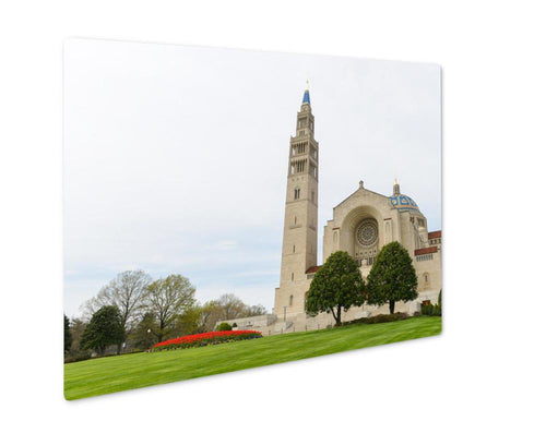Metal Panel Print, Washington D C Basilica Of The National Shrine Of The Immaculate Conception