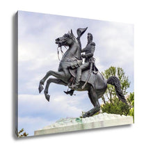 Load image into Gallery viewer, Gallery Wrapped Canvas, Andrew Jackson Statue Presidents Park Lafayette Square Washington Dc Created In