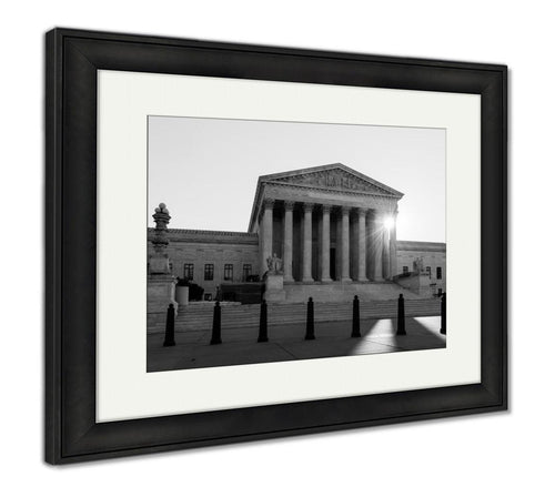 Framed Print, United States Supreme Court Washington Dc USA