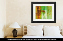 Load image into Gallery viewer, Framed Print, Creative Old Rusty Metal Flat Dirty Metal As The Main For