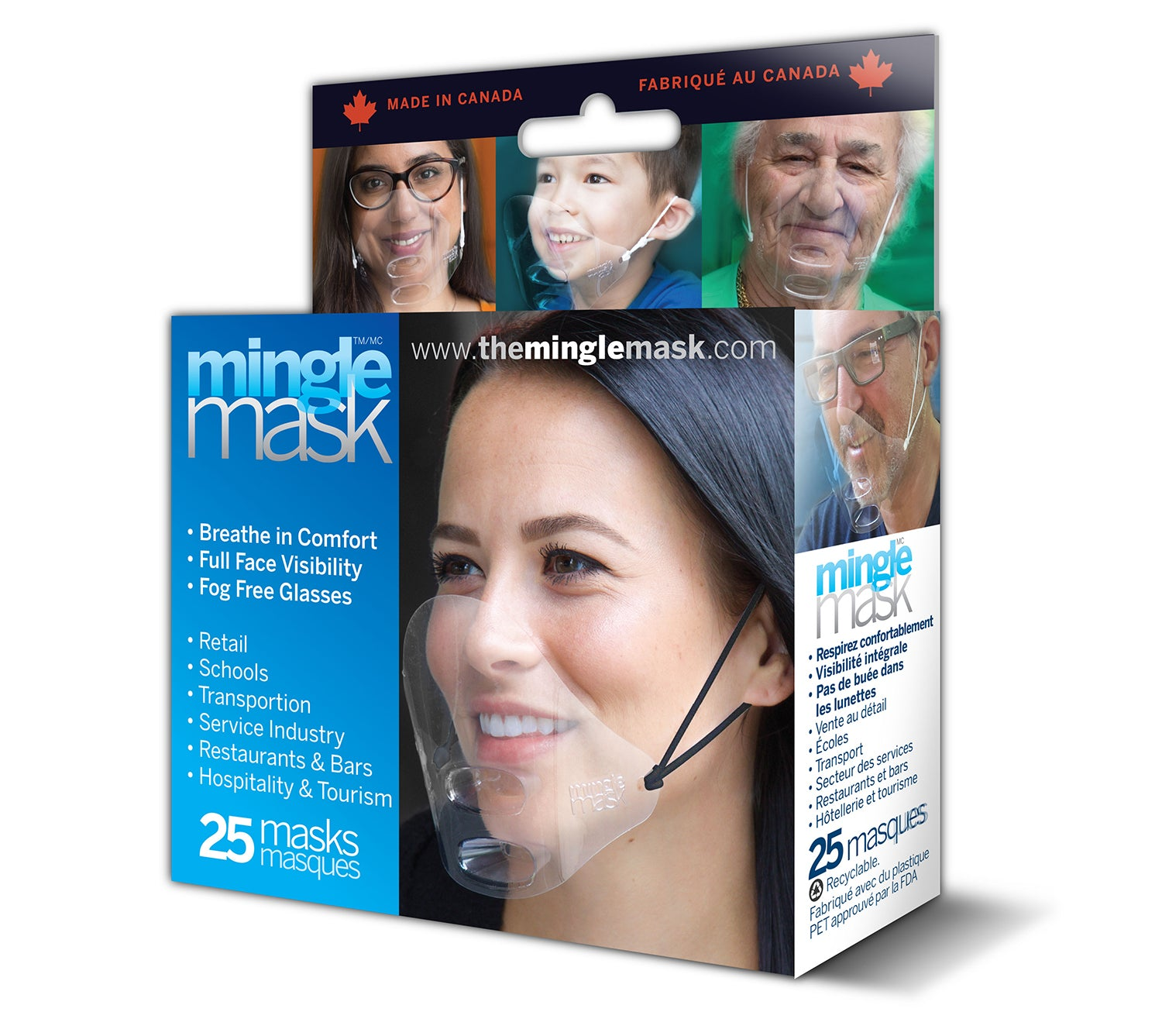 Mingle Mask - 25 Pack