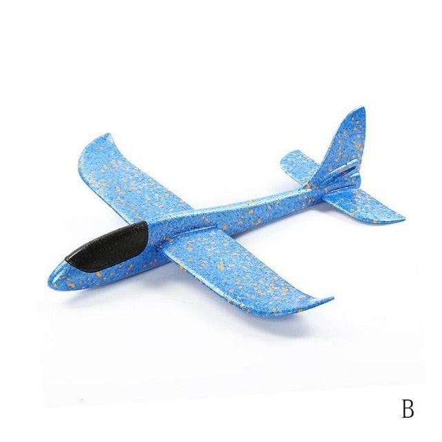 Throwing Foam Airplane Glider