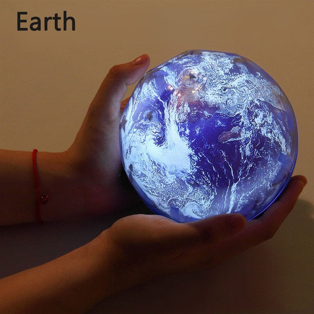 Rotatable Sky Night Light Projector Earth Universe LED Lamp