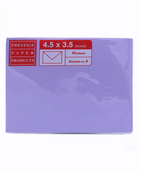 Colored Envelope IQ Biotop 10pieces per pack