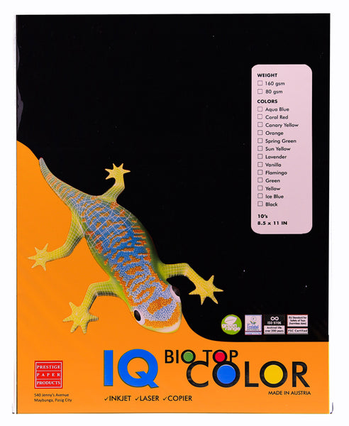IQ Biotop Specialty Paper 10sheet per pack