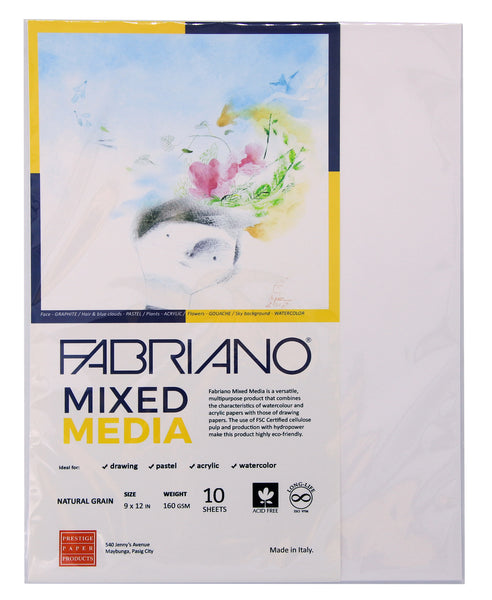 Fabriano Artist Paper Mixed Media