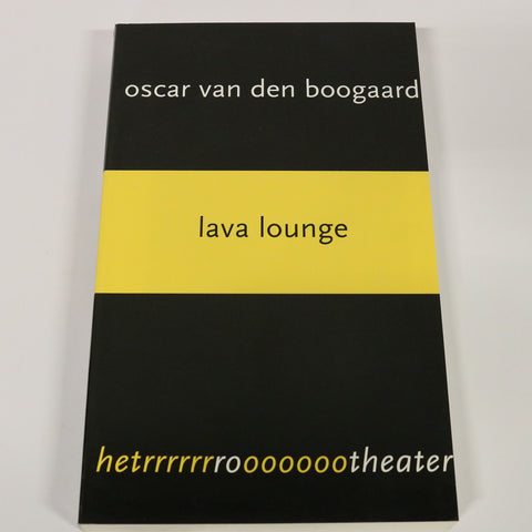 Tekstboek 'Lava Lounge'