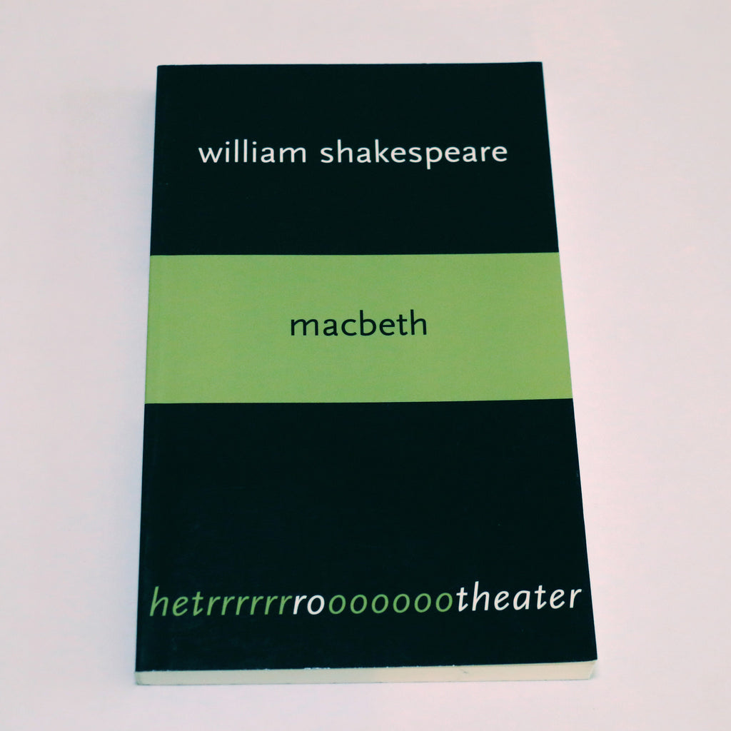 Tekstboek 'Macbeth'