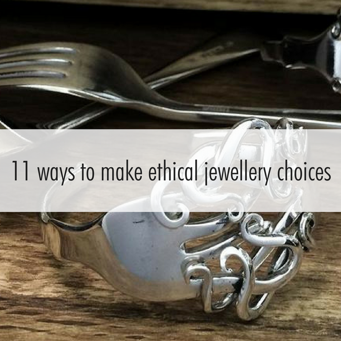 11 easy ways to make your jewellery choices more personalised, more fun and more ethical.