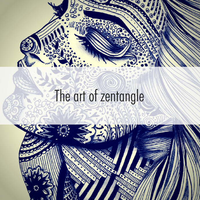 Finding courage in the art of Zentangle