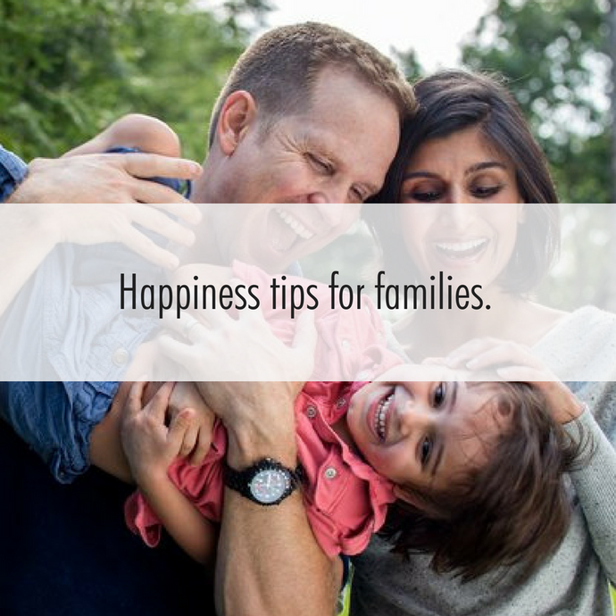 It's the Family Learning Festival and we're sharing simple happiness tips for families to enjoy.