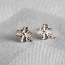 Clover for Luck - Always Flowers Earrings Collection-Always Flowers Earrings-[recycled]-[fair trade]-Mosami-ethical-fairtrade-mindful-conscious-ecofriendly-recycled