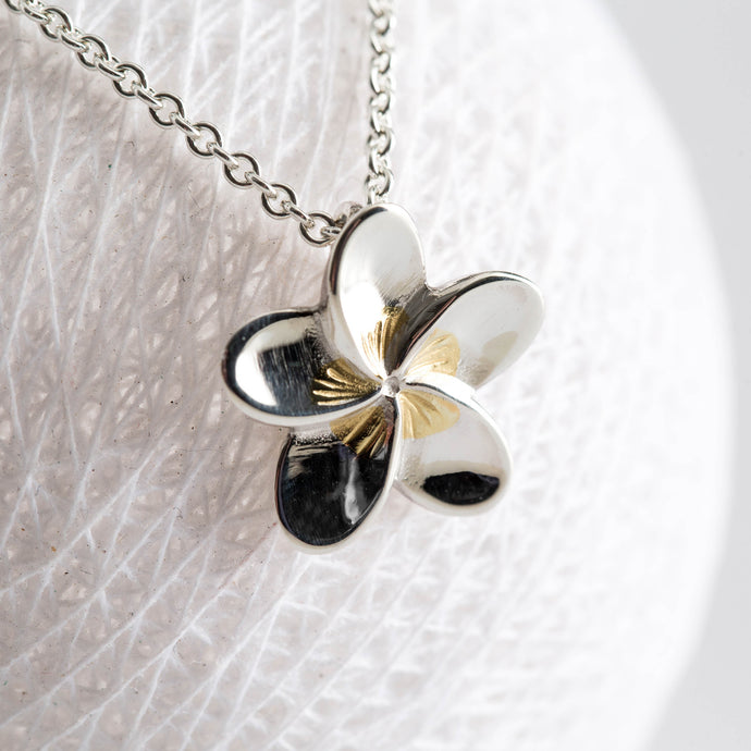 Frangipani for Loyalty & Love - Always Flowers Collection-Always Flowers-[recycled]-[fair trade]-Mosami-ethical-fairtrade-mindful-conscious-ecofriendly-recycled