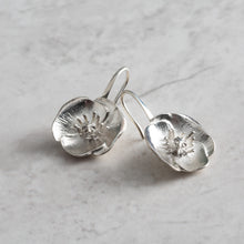 Poppy for Joy - Always Flowers Earrings collection-Always Flowers Earrings-[recycled]-[fair trade]-Mosami-ethical-fairtrade-mindful-conscious-ecofriendly-recycled
