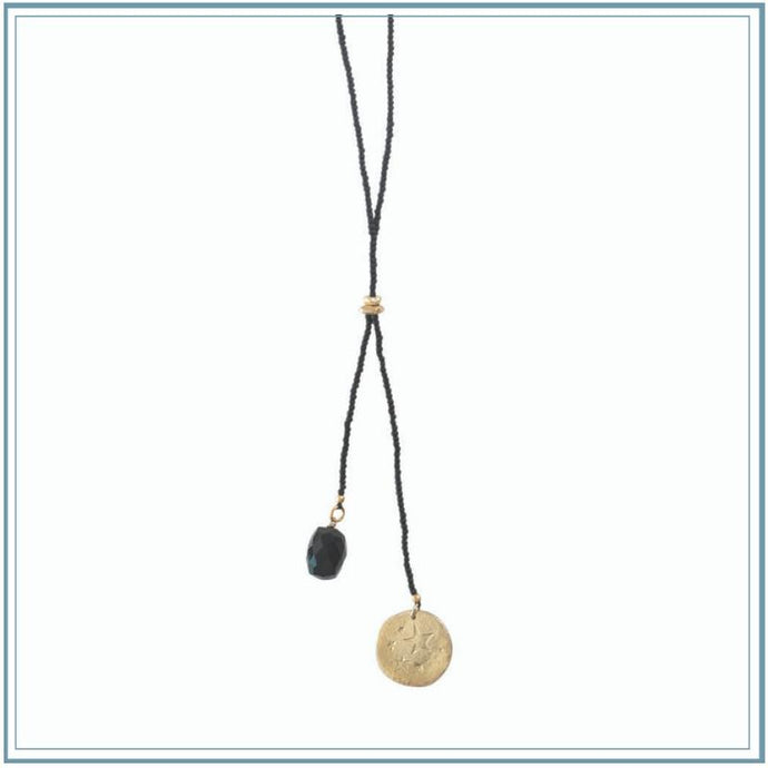SHINE - A Beautiful Story collection-ABS necklace-[recycled]-[fair trade]-Mosami-ethical-fairtrade-mindful-conscious-ecofriendly-recycled