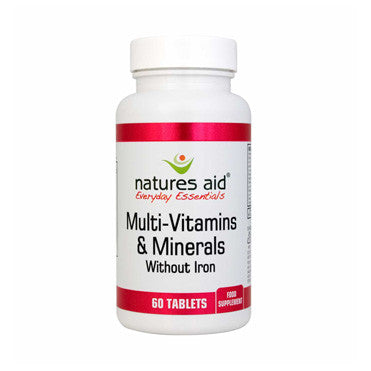 Multi-Vitamins & Minerals (without Iron)