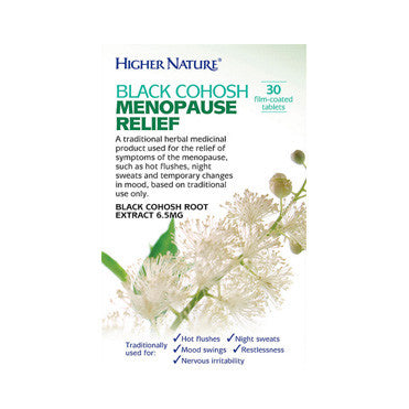 Black Cohosh Menopause Relief