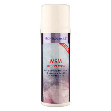 MSM Lotion Rose