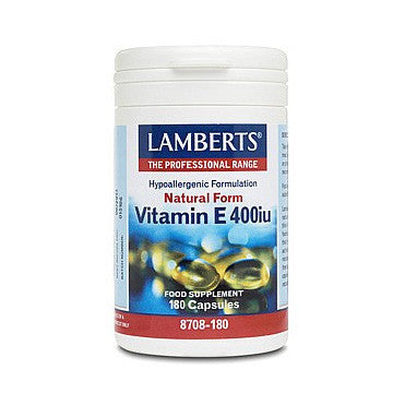 Natural Form Vitamin E (400iu)