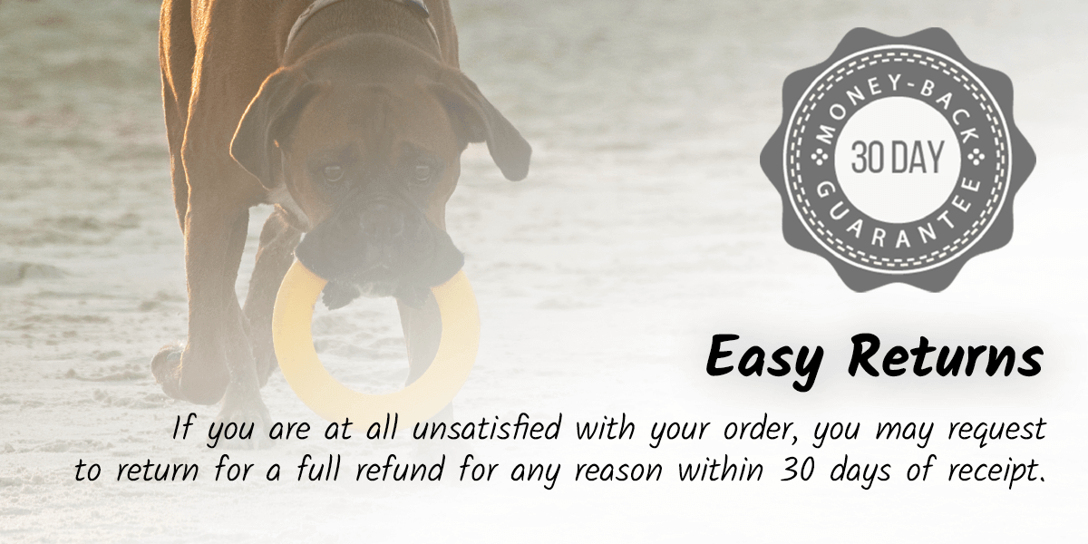 If you are at all unsatisfied with your order, you may request to return for a full refund for any reason within 30 days of receipt.
