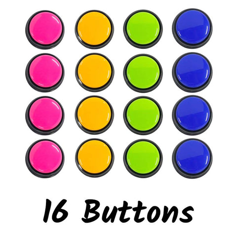 Image of 16 Pack - Word Buttons For Pets To Speak