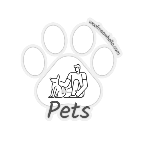 Sticker Label For Dog Speaking Buttons - Pets