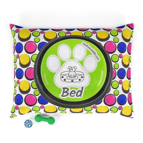 Image of Woof Meow Hello Pet Bed