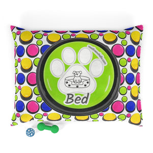 Woof Meow Hello Pet Bed