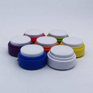(7 Pack) Mini-Size Recordable Voice Button For Cats And Dogs To Talk Communication buttons Woof Meow Hello