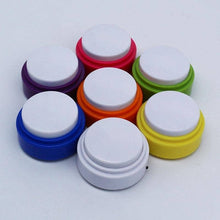 Load image into Gallery viewer, (7 Pack) Mini-Size Recordable Voice Button For Cats And Dogs To Talk Communication buttons Woof Meow Hello