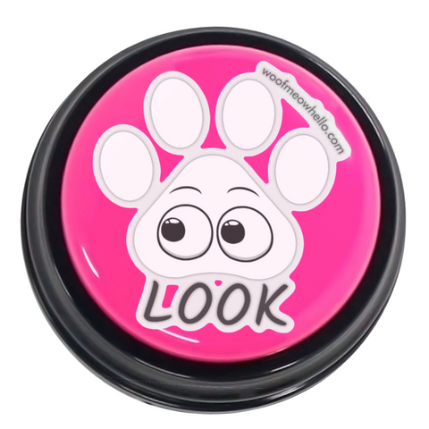 Look - Sticker Label For Dog Sound Buttons