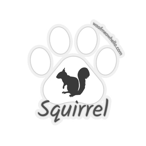 Copy of Sticker Label For Dog Speaking Buttons - Squirrel