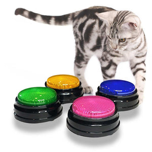 Speech Buttons For Cats - Pack Of 4 Recordable Buttons