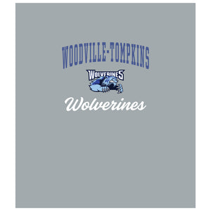 Woodville-Tompkins Wolverines Wordmark