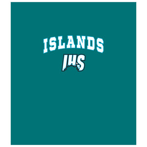 Islands Sharks Wordmark