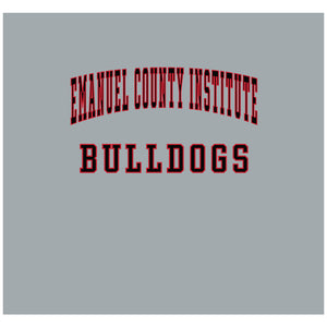 Emanuel County Institute Bulldogs Logo