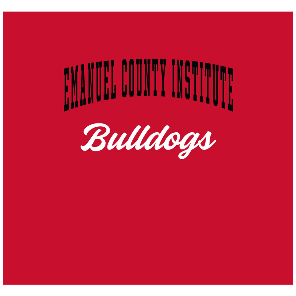 Emanuel County Institute Bulldogs Wordmark