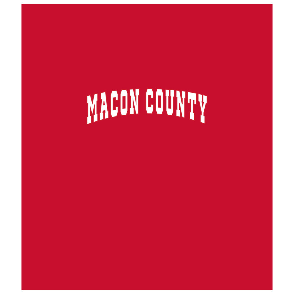 Macon County Bulldogs Wordmark
